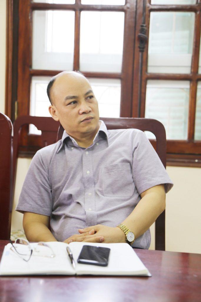 PGS.TS Nguyễn Văn Sửu - Trưởng khoa Nhân học