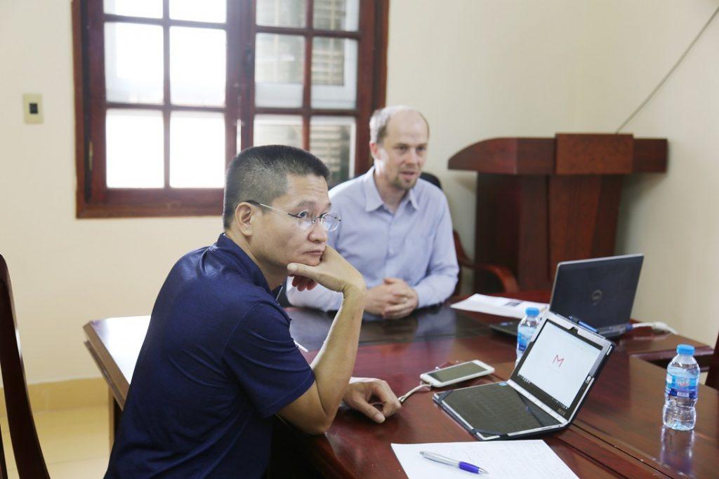 PGS.TS Đinh Hồng Hải - giảng viên Khoa Nhân học