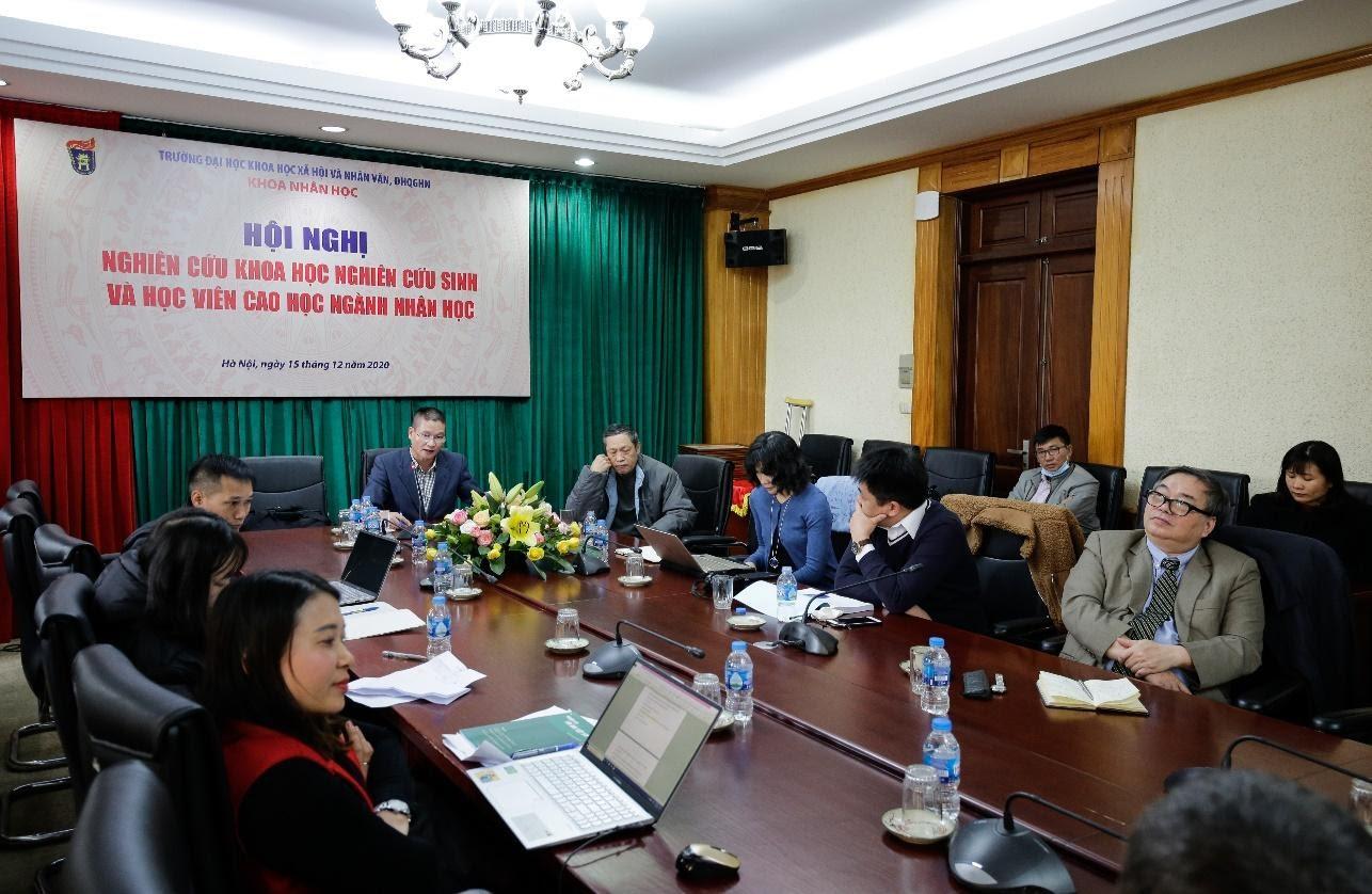 Hội nghị NCKH dành cho HVCH và NCS ngành Nhân học